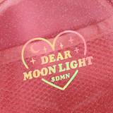 Hologram logo - Dear moonlight twinkle circle zipper pouch