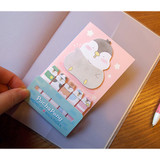 How to use - Pochapeng sticky bookmark memo notepad set