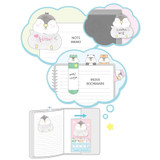 Composition - Pochapeng sticky bookmark memo notepad set