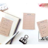 Weekly plan - PAPERIAN Make a memo sticky notepad