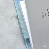 Blue - Feel so good PU adhesive index tab deco sticker