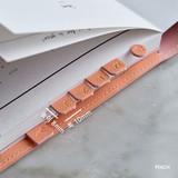 Peach - Feel so good PU adhesive index tab deco sticker