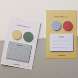 Dash and Dot Dots and check memo notes sticky notepad