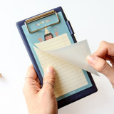 Example of use - Jam medium clipboard with pen holder ver2