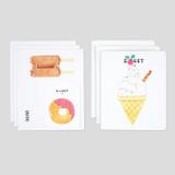 NACOO Sweet cat illustration card set ver2