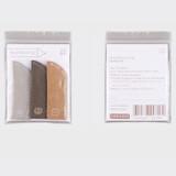 Package - SOSOMOONGOO Bread denim tag paper pencil cap  set
