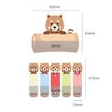 Size - N.IVY Lesser panda sticky bookmark memo notepad set