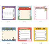 Option - Ardium Cute checklist to do list memo notepad
