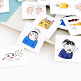 Todac Todac message paper deco sticker set
