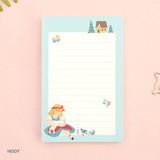 Heidy - World literature illustration memo writing notepad