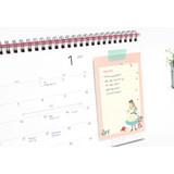 Example of use - World literature illustration memo writing notepad