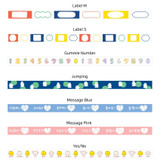 Option - Gummies washi paper deco masking tape