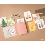 You - Life and pieces postcard collection set