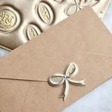 Cream gold - Feel so good leather seal deco sticker