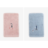 Dailylike Embroidery cotton hand towel set - Park