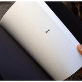 Black - Ardium B+W kraft hardcover lined notebook