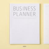 Gray - Ardium Business 3 months dateless daily planner ver3