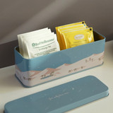 Dailylike Desert metal storage rectangular tin case box