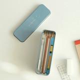 Example of use - Dailylike Desert metal storage rectangular tin case box