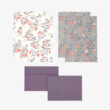 Composition - Daily letter paper and envelope set - Sandersonia