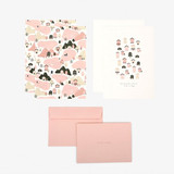 Composition - Dailylike Daily letter paper and envelope set - Home
