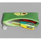 After The Rain Fruit PU flat zipper pencil case pouch
