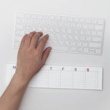 Example of use - JSTORY Checklist sticky dateless weekly desk planner pad