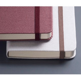 Elastic band closure - Record Remember Tomorrow small hardcover lined notebook