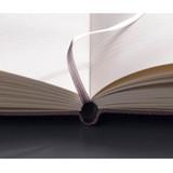 Ribbon bookmark - Draw Memories Tomorrow small hardcover blank notebook