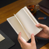 Blank pages - Draw Memories Tomorrow small hardcover blank notebook