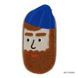 Best friend- Antenna Shop Boucle canvas zipper pen case pouch