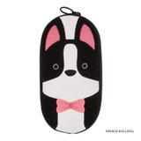 French bulldog - Antenna Shop Boucle canvas zipper pen case pouch
