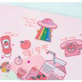 Usage example - Ardium Pop illustration colorful point paper deco sticker