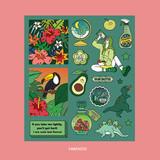 Fantastic - Ardium Pop illustration colorful point paper deco sticker