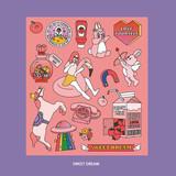 Sweet dream - Ardium Pop illustration colorful point paper deco sticker