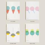 Option - designlab kki Combination spiral large lined blank notebook