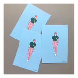 03 - CommaB pastel illustration postcard