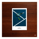 03 - CommaB analog and modern illustration postcard