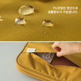 """Water resistant - A low hill basic pocket 13"""" laptop pouch case ver5"""