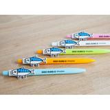 Ggo deung o clip black ballpoint pen 0.7mm