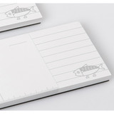 Detail of Ggo deung o weekly desk notepad