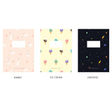 Option - O-CHECK Spring come small dot school notebook
