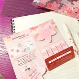 N.IVY Oev cherry blossom sticky memo it notepad set