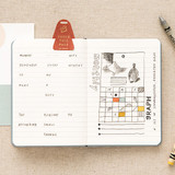 Example of use - Livework Moment small lined notebook ver3