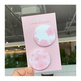 N.IVY Buri cherry blossom circle sticky it memo notepad set