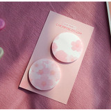 N.IVY Buri cherry blossom circle sticky it memo notepad set