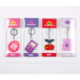 Package - 90s coolkids party epoxy keyring keychain
