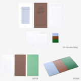 Favorite thing - Dailylike Choice message letter envelope set
