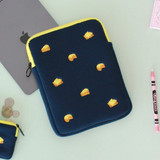 Example of use - Tailorbird embroidered tablet PC iPad zip pouch ver4