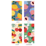 Option - Ardium Fruit pattern notepad clipboard file folder